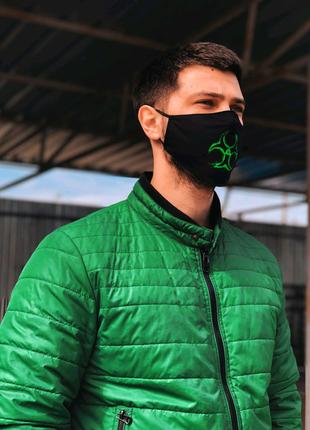 Многоразовые маски с дизайном и сменной марлей внутри