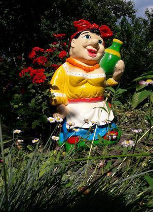 Декоративные фигурки для сада СОЛОХА