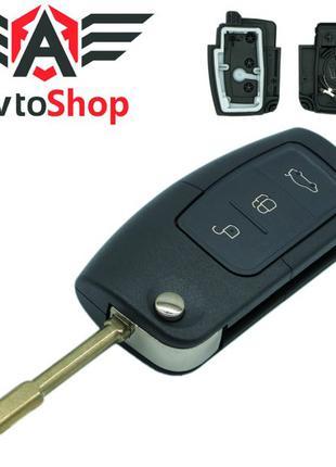 Ключ выкидной Ford Focus, Fiesta, C-Max, S-Max, Mondeo, Galaxy 3