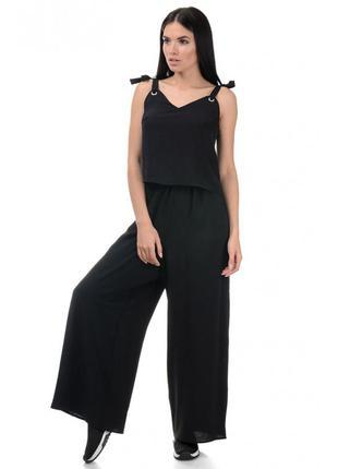 ✨ стильный женский летний костюм брюки и топ, р. s, m, l 600 грн