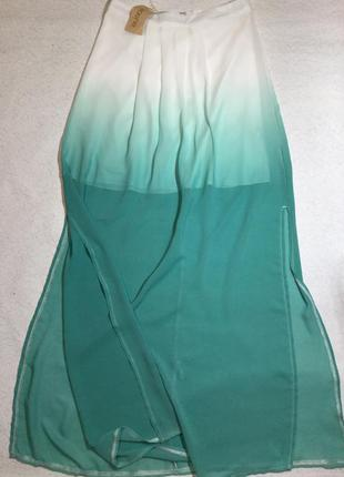 Новая с биркой юбка  макси с градиентом parisian collection ра...