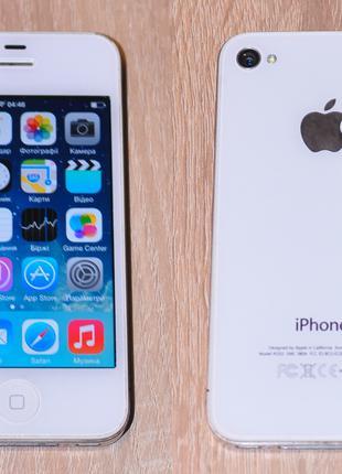 Apple iPhone 4/16Gb neverlock у хорошому стані
