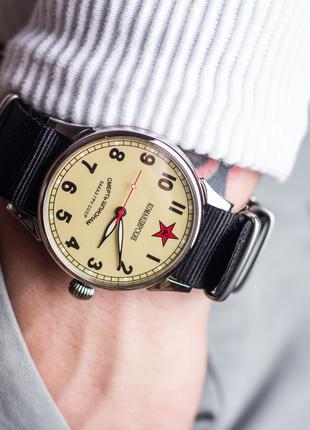 Авиатор Командирские, Смерть шпионам, мужские наручные часы, Винт