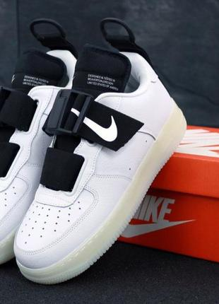 Мужские кроссовки nike air force utility white