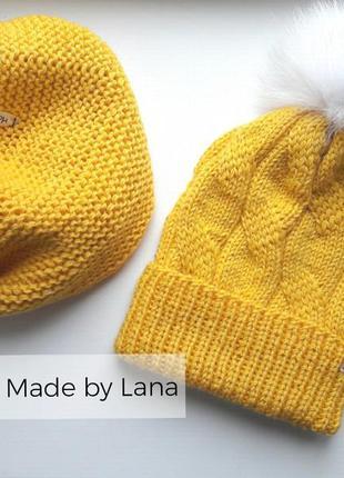 Hand made шапка для девочки снуд для девочки