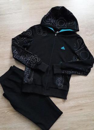 Adidas спортивный костюм женский