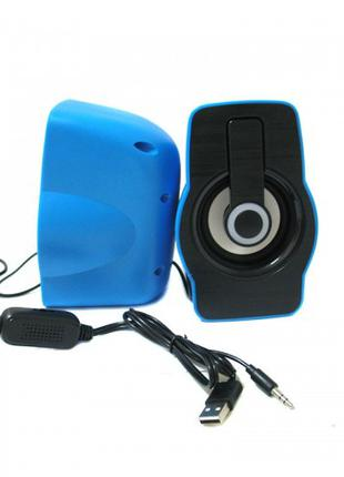 Компьютерные колонки акустика 2.0 USB FnT FT-185