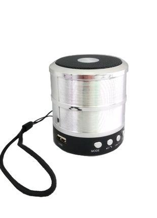 Портативная bluetooth колонка WS-887 ФМ, MP3, USB, радио, блютуз