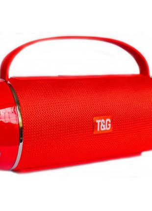 Портативная bluetooth колонка влагостойкая T&G 116 Красная