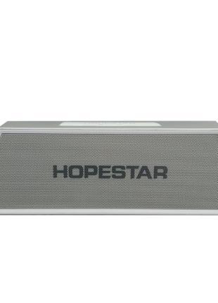 Портативная bluetooth колонка спикер Hopestar H28 Серый