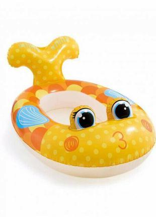 Надувной плот лодочка Intex Рыба (59380)