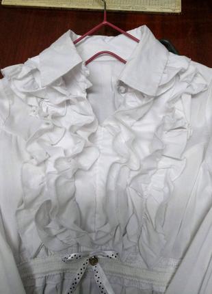 Блузка Pinetti для школы на р. 140см.