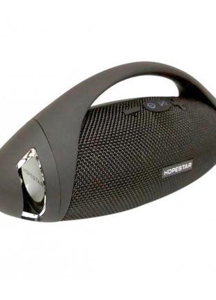 Портативная bluetooth стерео колонка спикер Hopestar H37 Чёрный