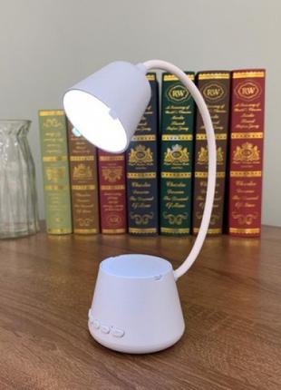 Смарт лампа колонка настольная Cydhyteam HY41 led bluetooth 5в1 п
