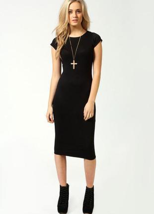 Классичесское платье миди ниже колена