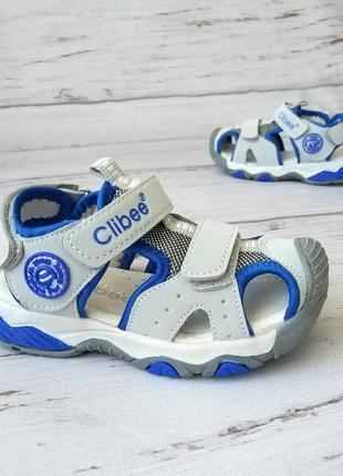 Спортивные босоножки для мальчиков clibee !!!последняя пара!!!