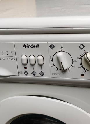 Продам стиральную машину с сушкой Indesit WDN 2296 XW