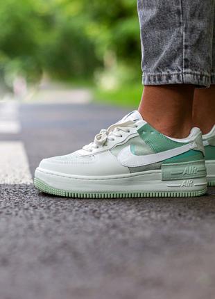 Кроссовки Nike Air Force Shadow Green\Mint