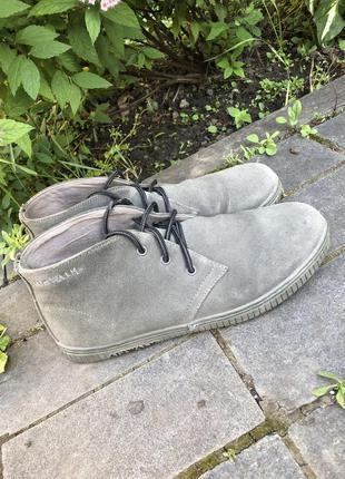 Замшевые ботинки , мужские ботинки air walk