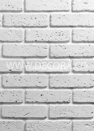 Полиуретановая форма для плитки кирпича из гипса «Кирпич Траверти