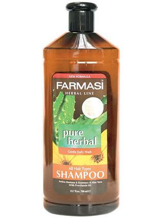 Шампунь травяной для всех типов волос Farmasi