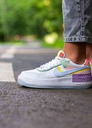 Кроссовки Nike Air Force Shadow Multi-Color