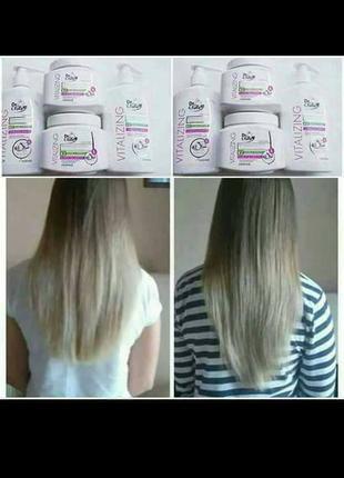 Шампунь с экстрактом чеснока стимулирует рост волос vitalizing...