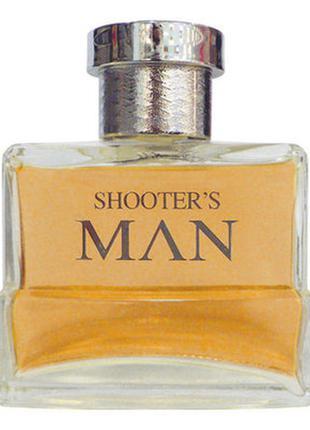Мужская парфюмированная вода shooters man шутерс мен фармаси