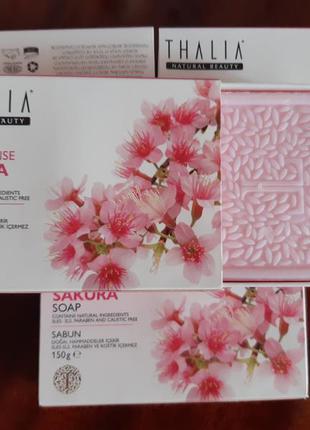 Натуральное мыло sakura thalia sakura age defense natural soap...