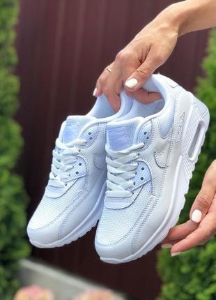 Женские кроссовки nike air max 90 найк аир макс цвет белый
