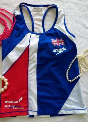 Женская спортивная майка # фирменная спортивная одежда # speedo