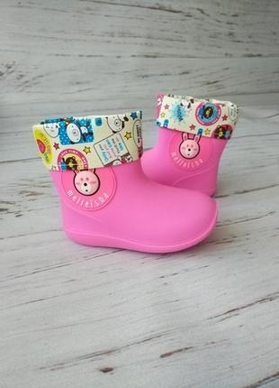 Резиновые сапоги для девочек hemuyu