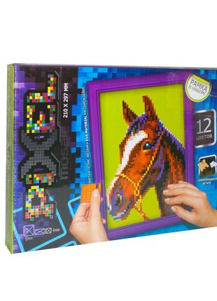 """Мягкая мозаика """"Pixel"""", """"Лошадь"""""""