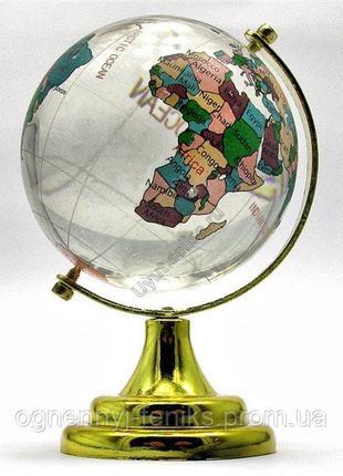 Глобус настольный цветной - символ стремления к знаниям и активиз