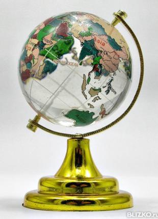 Глобус настольный большой цветной - символ стремления к знаниям