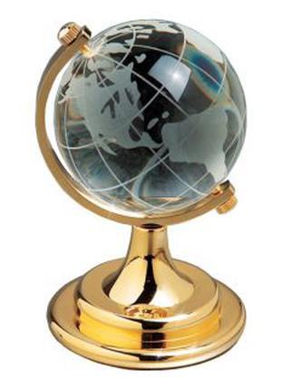 Глобус хрустальный белый - символ стремления к знаниям