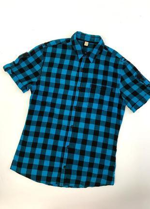 Мужская рубашка в клетку. рубашка в клеточку