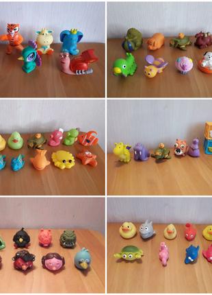 Игрушки, кубики резиновые для купания в ванной Simba, Disney и.п
