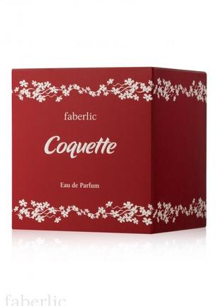 Парфюмерная вода для женщин coquette  faberlic 3174 фаберлик