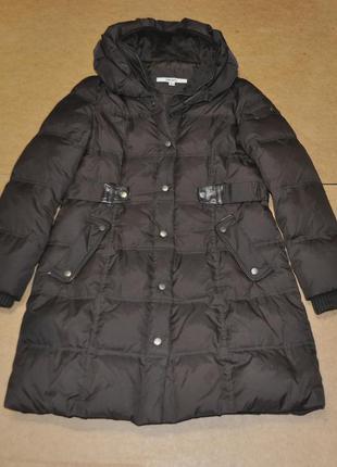 Dkny теплая женская парка куртка пуховик зима