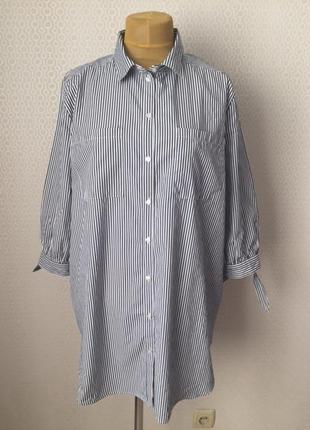 Новая (с этикеткой) рубашка блуза большого размера (xl) от бре...