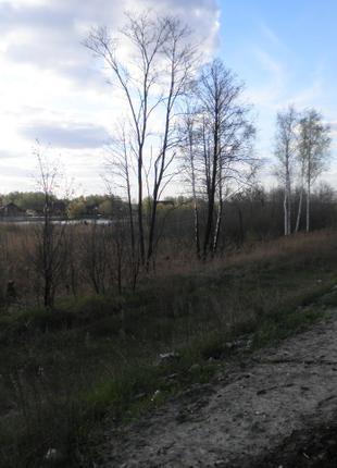 Земельный участок Новообуховская трасса. Фасад.