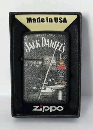 Зажигалка ZIPPО Jack Daniels