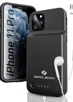Чехол-аккумулятор Zero Lem 4000 mAh для iPhone 10, 10 S, 11 Pro