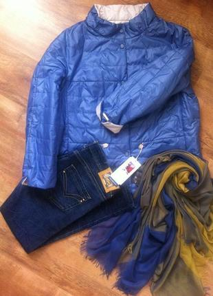 Шикарная двусторонняя куртка oscar 52-56