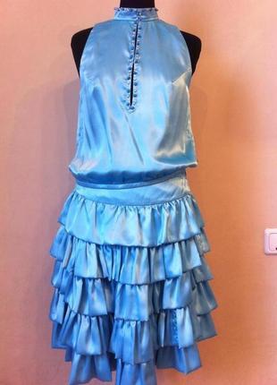 Вечернее выпускное нарядное платье костюм италия xz helen s