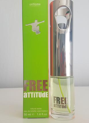 туалетная вода Free Attitude орифлейм oriflame