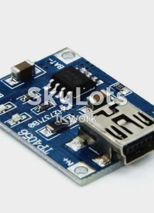 TP4056 mini USB зарядное Li-Ion аккумулятор