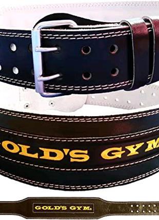 Атлетический пояс Gold's gym