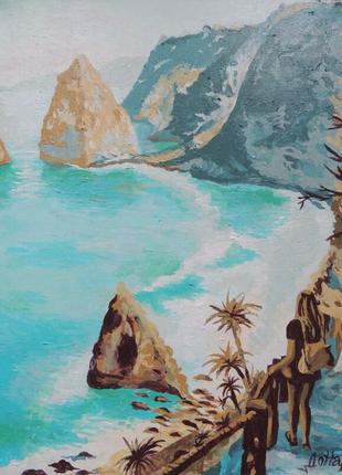 """Картина """"У океана""""."""